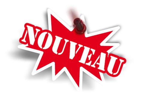new sticker, autocollant nouveau